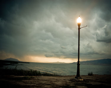 Lamp and Lake